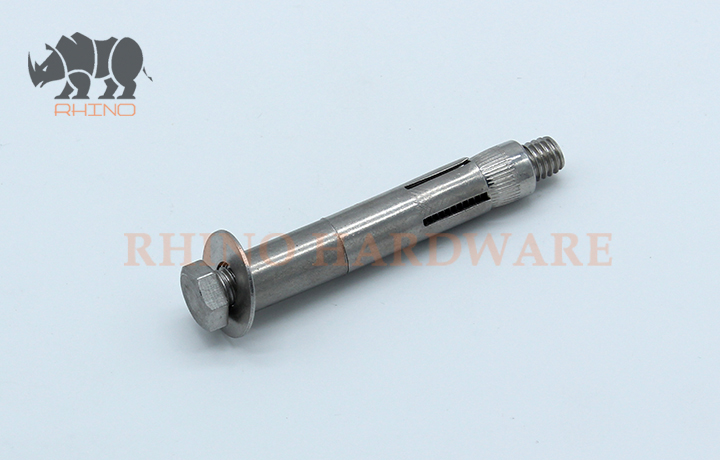 Stainless steel sleeve Anchor With Hex Bolt