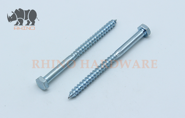DIN571 Hex Head Wood Screw
