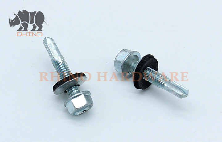 Roofing Screw EPDM Washer PT5 drilling Point