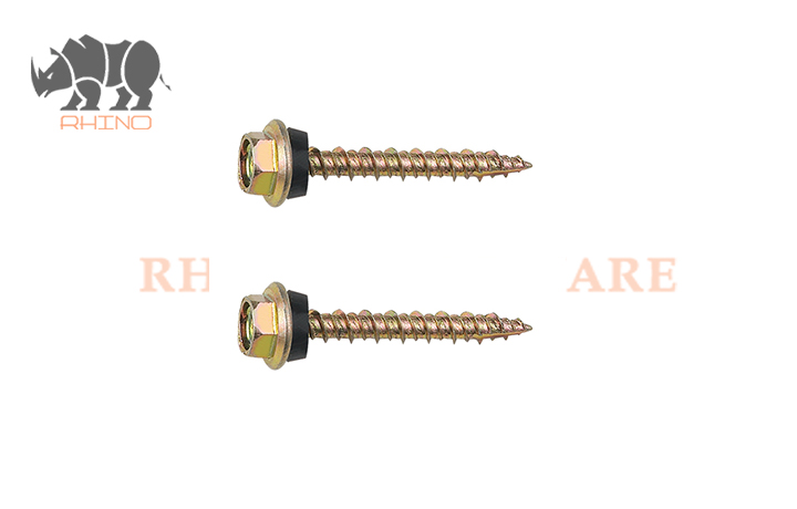 Hex Flanged Head Self Tapping Screw High-Low Thread