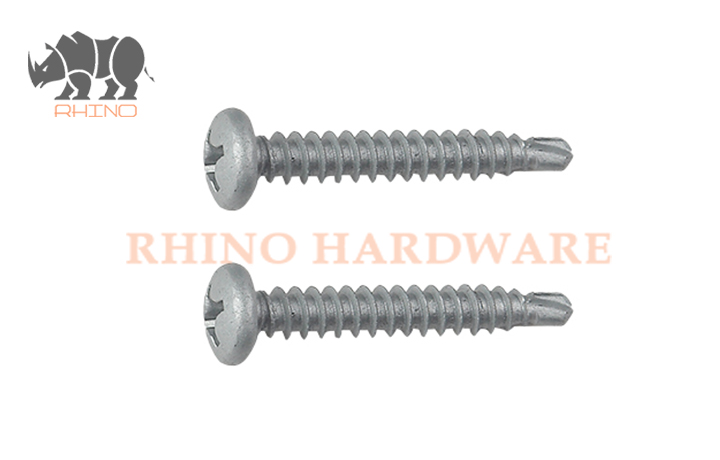 Phill Pan Head Self Drilling Screw Dacrotized